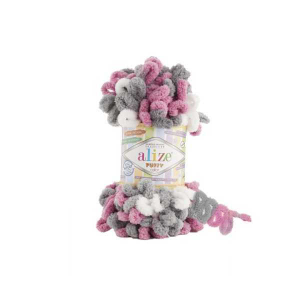 Alize Puffy Color No: 6070 (5'li paket)