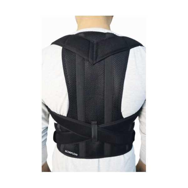 Ankaflex Medikal Ortopedik Kamburluk Önleyici Ayarlanabilir Posturex Manyetik Dik Duruş Korsesi