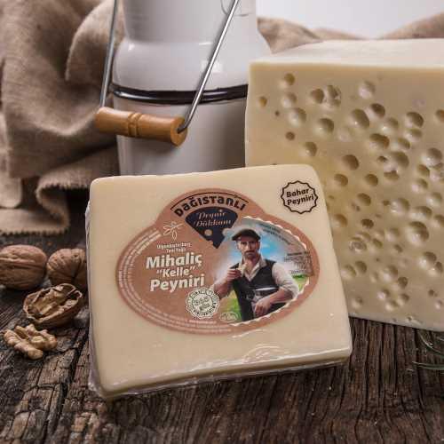 Dağıstanlı Özel Mihaliç Kelle Peyniri- Az Tuzlu–  500g