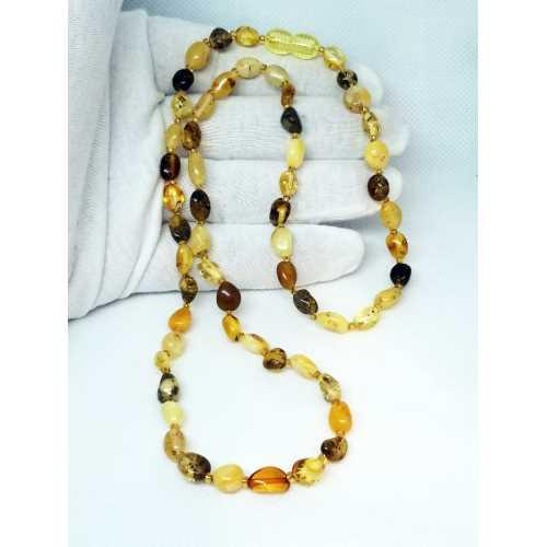 Kehribar Kolyesi Damla Kehribar Natural Amber Şifalı taş KadimKehribar