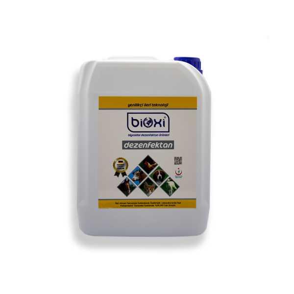 Bioxi® Veteriner ve Hayvan Dezenfektanı 5 LT /Hipokloröz asit (HOCl) bazlı