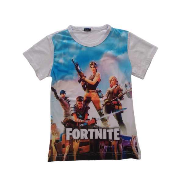 Fortnite Erkek Çocuk Digital Baskılı Kısa Kollu Tişört ÇET-NİTE