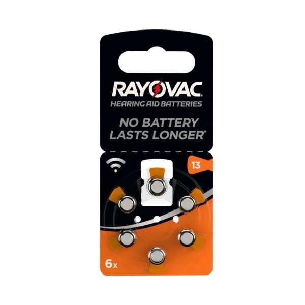 RAYOVAC 13 Numara Kulaklık Pili 6'Lı Paket - RAYOVAC 13 Numara İşitme Cihazı Pili 6'Lı Paket