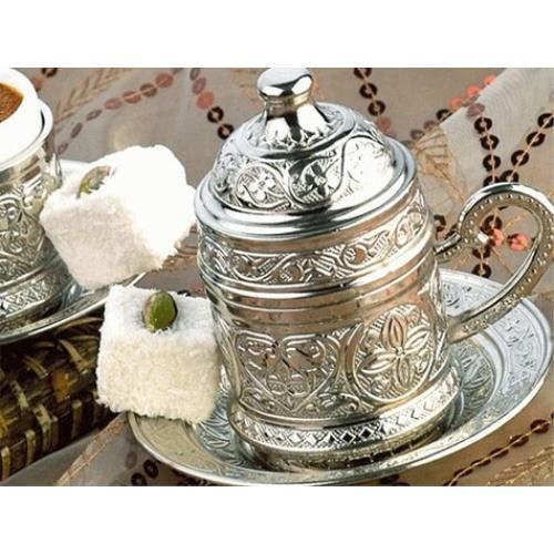 Osmanlı Motifli Kahve Fincanı