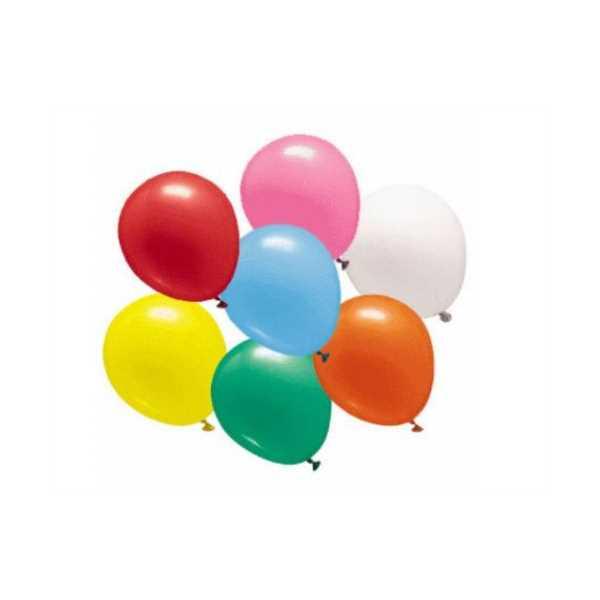 Renkli Balon – 50 Adet