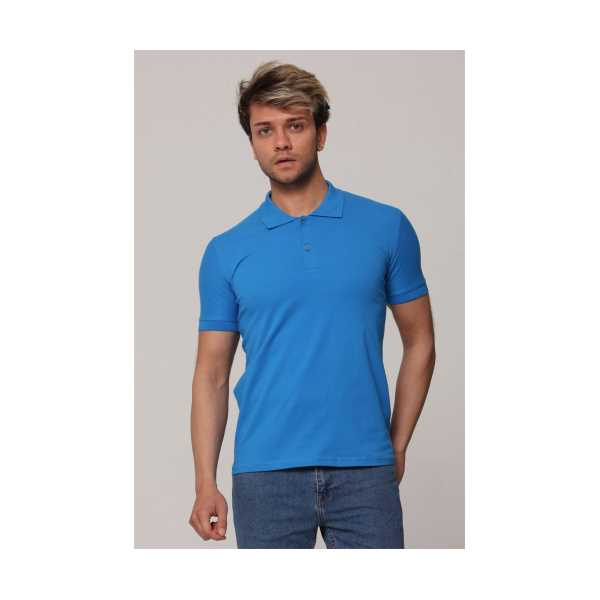 MAVİ Polo Yaka T-shirt