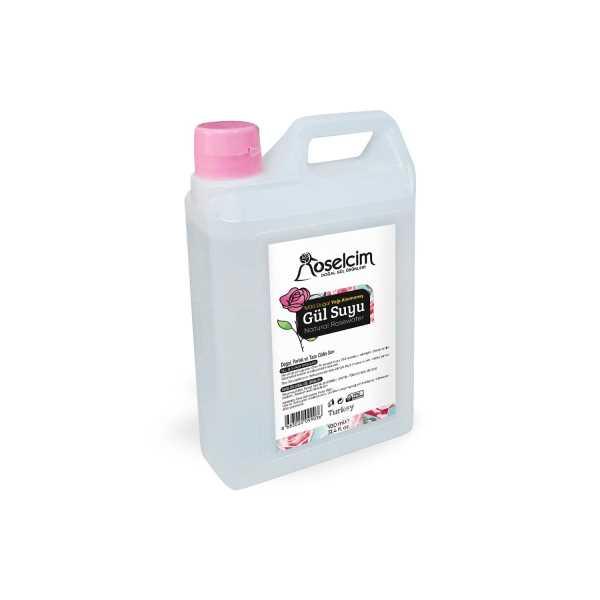 %100 Doğal Yağı Alınmamış Gül Suyu 930 ml (Gül hidrolatı)