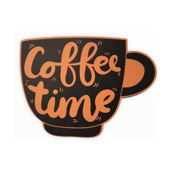 WoodyPack Coffee Time Şekilli Kesim Ahşap Bardak