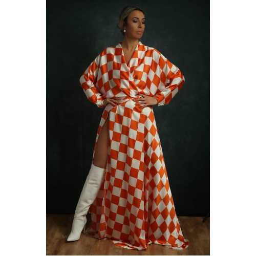 Valencia & Bilbao Koleksiyonu Naranja Elbise
