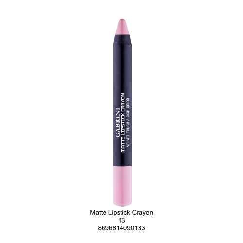 Gabrini Matte Lipstick Crayon No:13
