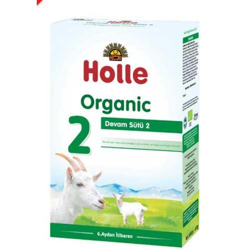 HOLLE ORGANİK KEÇİ SÜTÜ DEVAM FORMÜLÜ  2 NUMARA 400 grm ( 6-12 AY)-Doğal sağlık ürünleri