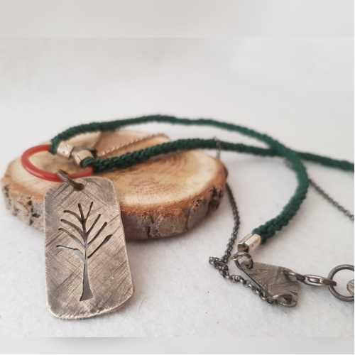Shamanic Vibes  / Hayat Ağacı Motifli Kolye by Elir