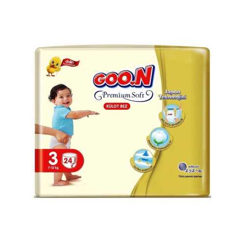 Goon Külot Bez Premium Soft 3 Beden 24 Adet