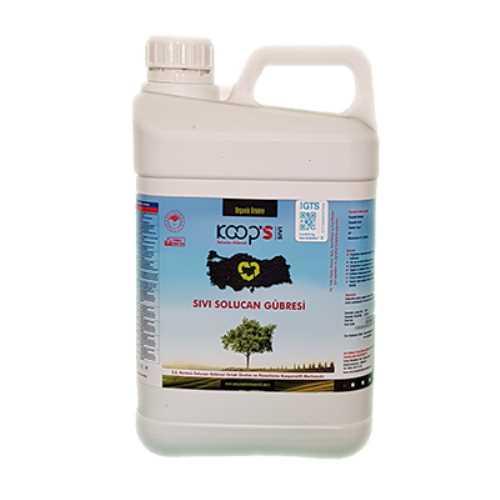 KoopS Organik Sıvı Solucan Gübresi. Doğal, Kokusuz,Ekonomil Gübre