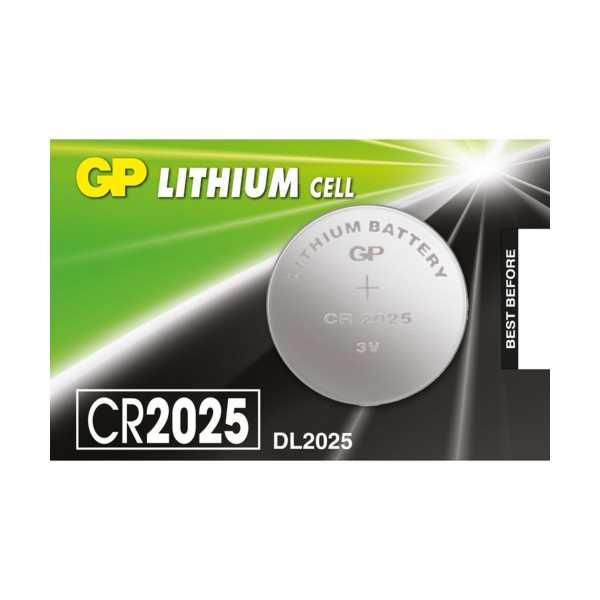 GP CR2025 3V Lithium Para Pil