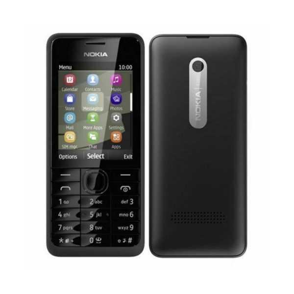 Nokia 301 Kameralı Tuşlu Cep Telefonu (2 Yıl Garantili)