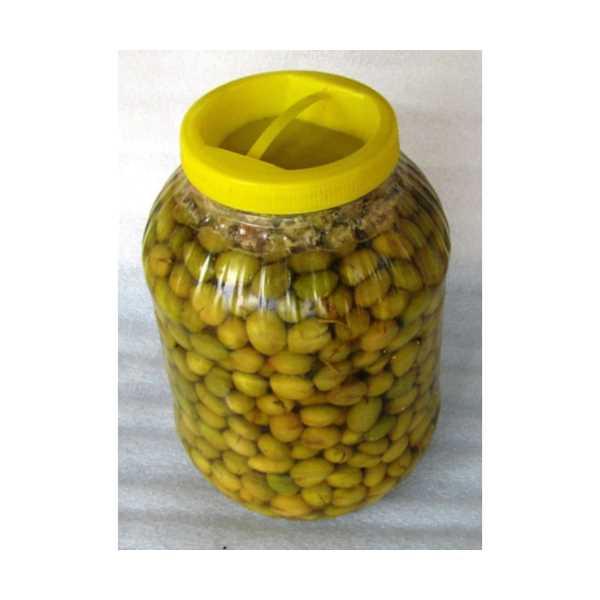 Doğal Kırma Salamura Yeşil Zeytin 3 kg