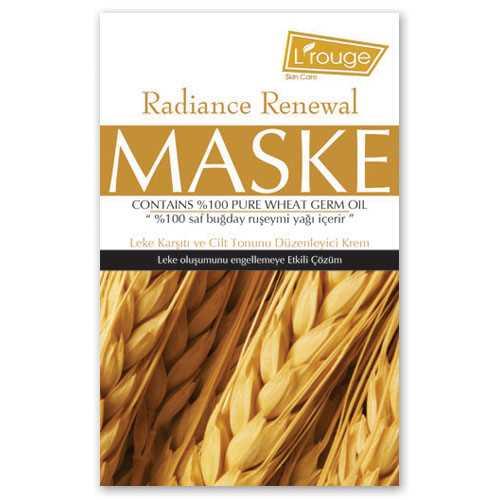 l'rouge Leke Karşıtı Maske ( buğdaylı ) 6x 15 ml
