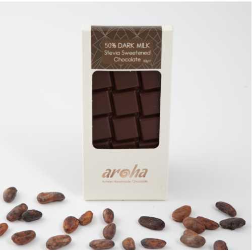 Aroha Stevialı Sütlü Çikolata - %50 Kakao