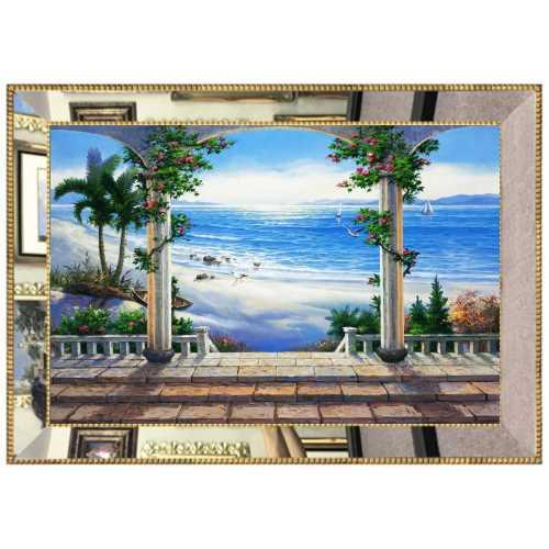 Aynalı Deniz manzarası