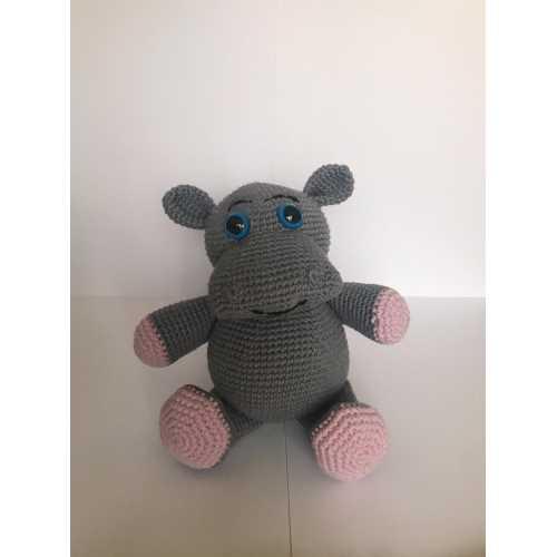 Amigurumi Hipopotam Oyuncak