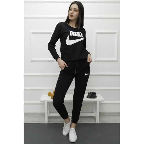 ModaStories Bayan Eşofman Takımı Siyah