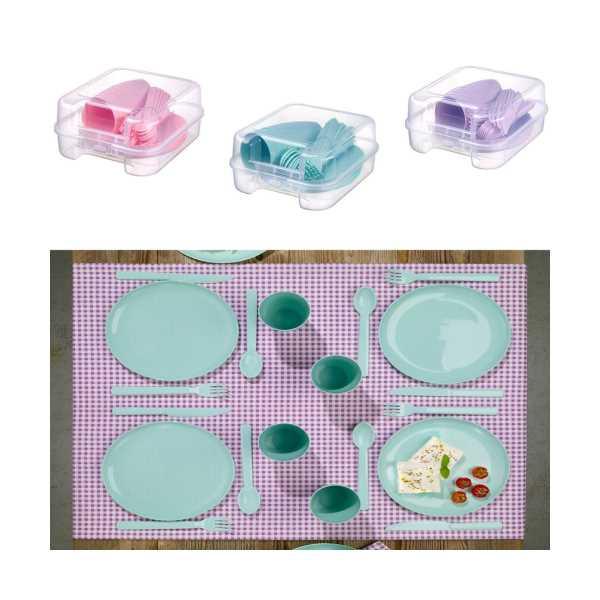 Piknik Seti 6 Kişilik Çantalı 32 Parça