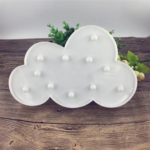 Bulut Tasarımlı Masa Lambası