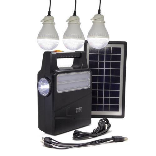 Solar Kamp Lambası - Işıldak Seti - Powerbank - GS4000