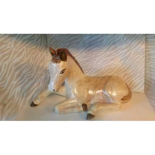 Seramik El Yapımı Çini At