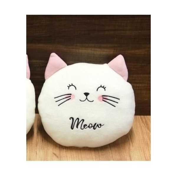 Sevimli Kedi Tasarımlı Yastık