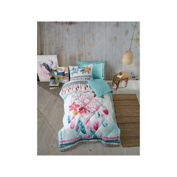 Cottonbox Genç Odası Tek Kişilik Uyku Seti Joslin Mint
