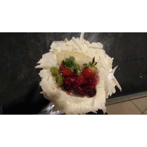 Şirin Boğaziiçi - Yaş Pasta Meyveli 3-4 Kişilik
