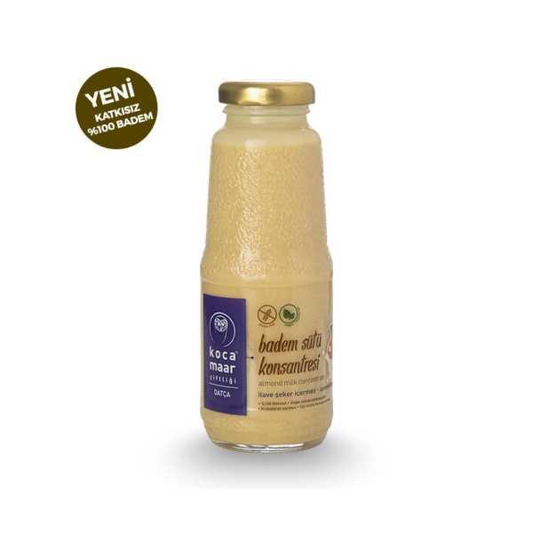 Kocamaar Badem Sütü Konsantresi (%100 Badem) 270gr