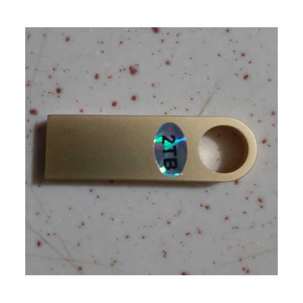 2 TB WİSHMAX USB FLASH DİSK -HARİCİ BELLEK  3.0       1 ADET GOLD
