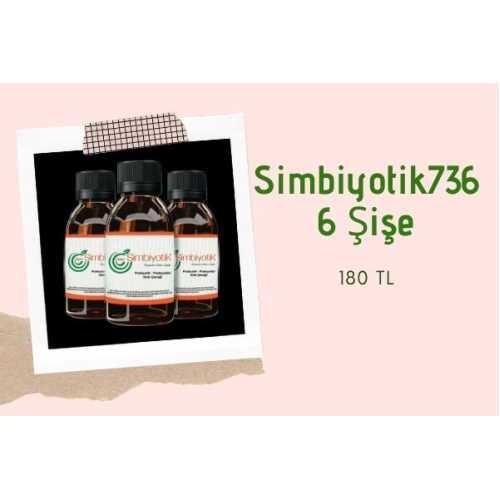 Simbiyotik 736 -Probiyotikli Gıda İçeceği (6 Şişe)
