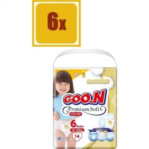 Goon Premium Külot Bez Ekonomik 6 Beden 14 Adet