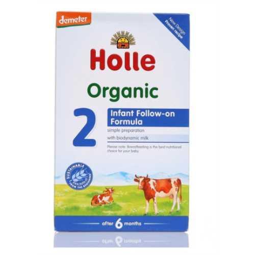 HOLLE ORGANİK DEVAM İNEK SÜTÜ 2 NUMARA 600 grm ( 6-12 Ay)-Doğal sağlık ürünleri