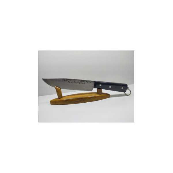 BIÇAKCI ÖKKEŞ Kasap Bıçağımız Özel Yapım 18 Cm El Yapımı Dövme Çelik özelsiyah