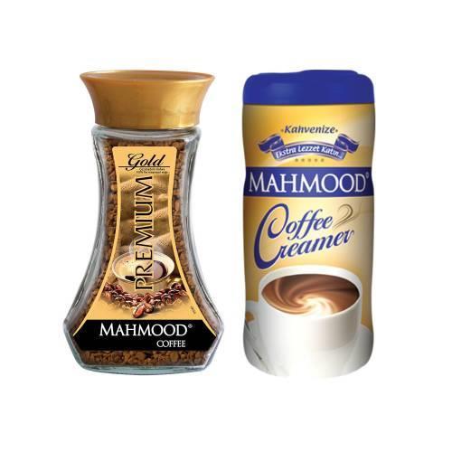 midyatziv Mahmood Coffee Premium Gold 100 gr ve Kahve Kreması170 gr(midyatziv)