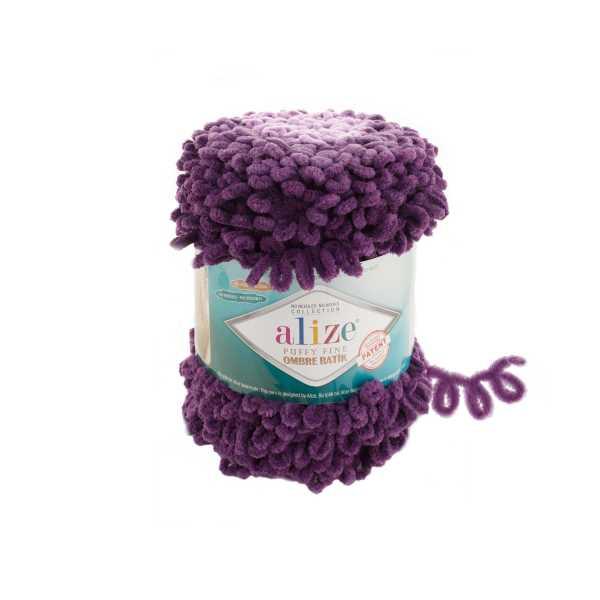 Alize Puffy Fine Ombre Batik No: 7277