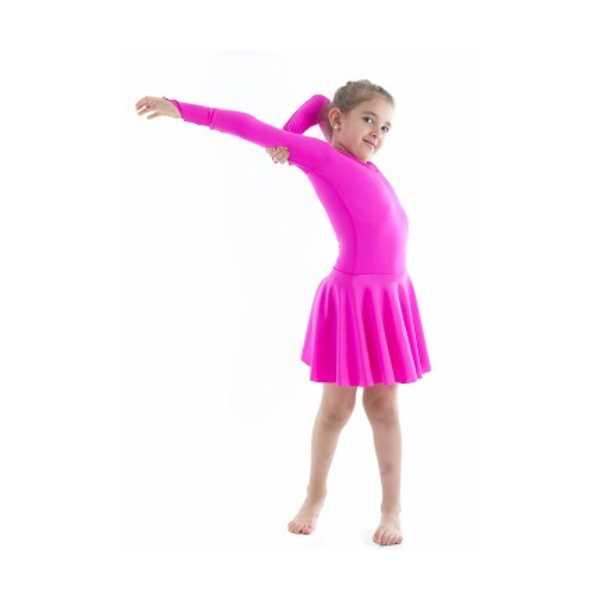 Tülü Akkoç Çocuk Latin Dans Kostümü