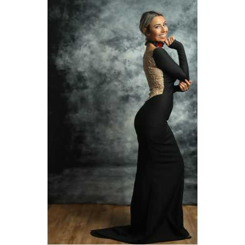 Elegant Koleksiyonu Black Magic Elbise