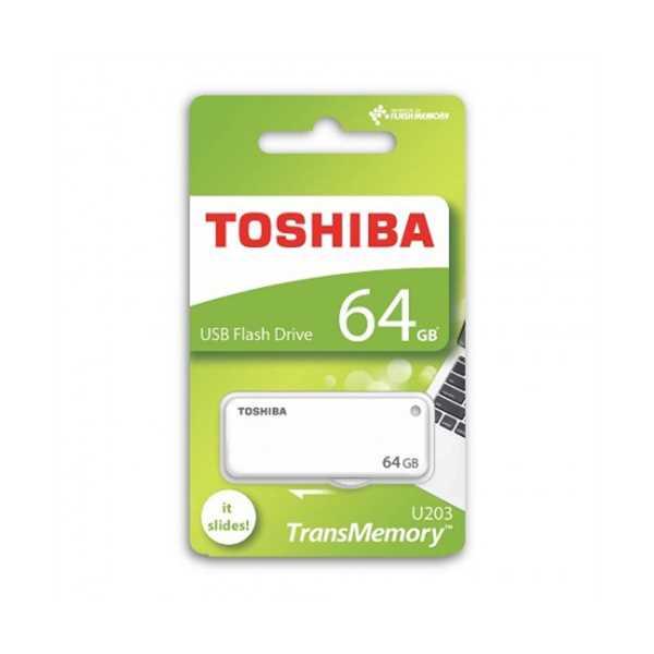 TOSHİBA 64GB USB2.0 (YAMABIKO) BEYAZ FLASH BELLEK