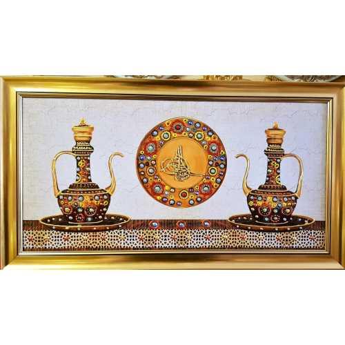 Kabartmalı dekoratif Tablo