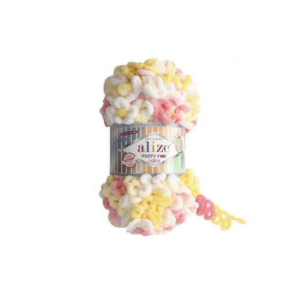 Alize Puffy Fine Color No: 5942 (5'li paket)