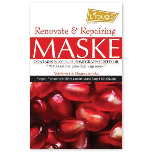 l'rouge Yenileyici ve Onarıcı Maske 6x 15 ml