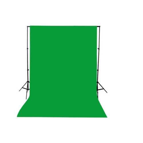 green screen- greenbox -yeşil fon perde (1.5x2m)  ve Fon standı