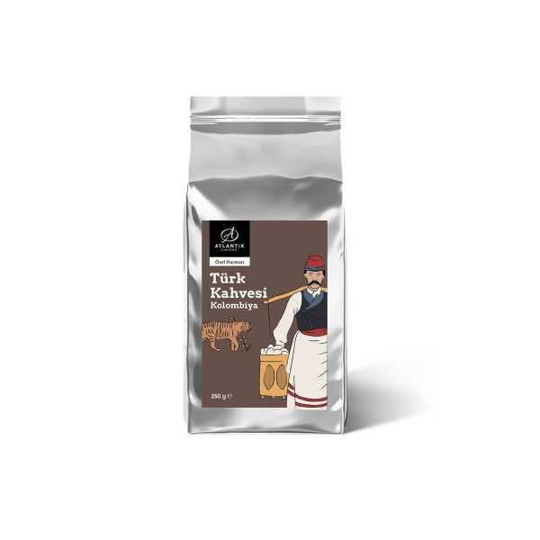 Atlantik Coffee Special Türk Kahvesi Kolombiya Harman 250gr