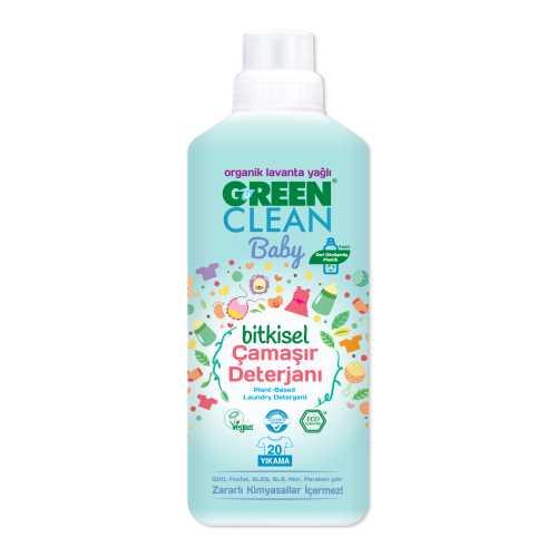 Green Clean Baby Bitkisel Çamaşır Deterjanı 1000 ml